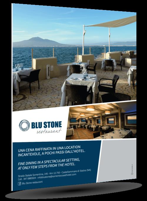 A4 blu stone