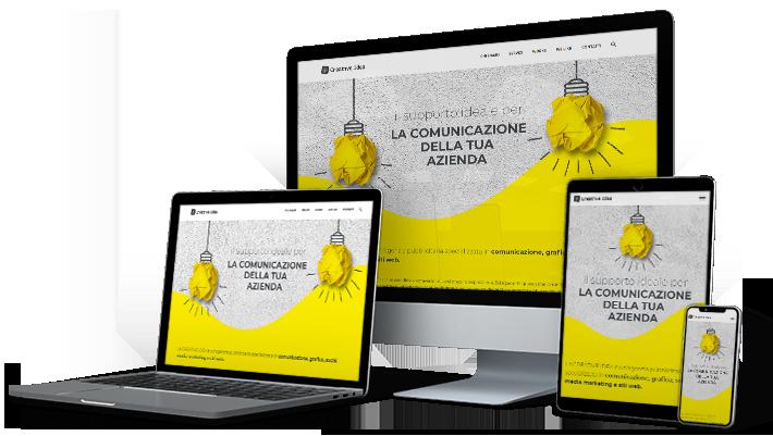 Realizzazione siti web Napoli Salerno / Web design Napoli Salerno / Restyling sito web / Realizzazione siti web ecommerce